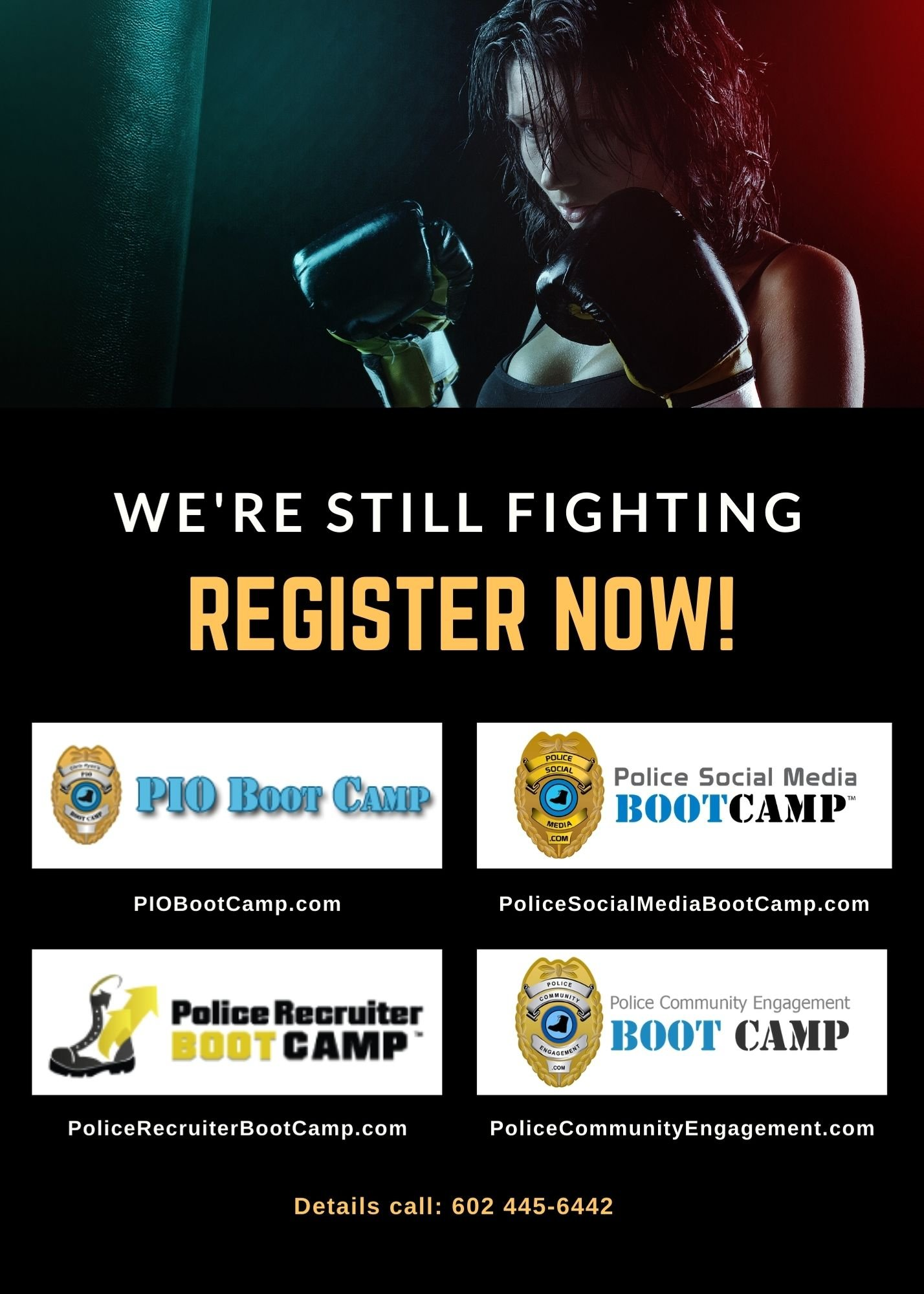 We're Still Fighting - Police Social Media
